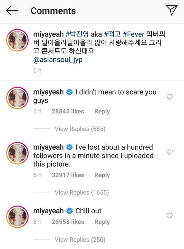 Góc hài hước: Sunmi đăng hình ủng hộ chủ tịch JYP tung MV mới nhưng fan tưởng cô công khai... người yêu nên bỏ theo dõi Instagram? - Hình 2