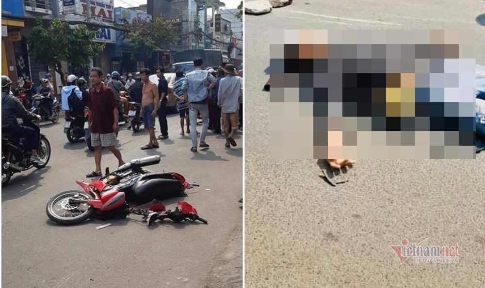 Nghi vấn giật dây chuyền rồi ngã xe máy chết sau tai nạn ở Sài Gòn - Hình 1