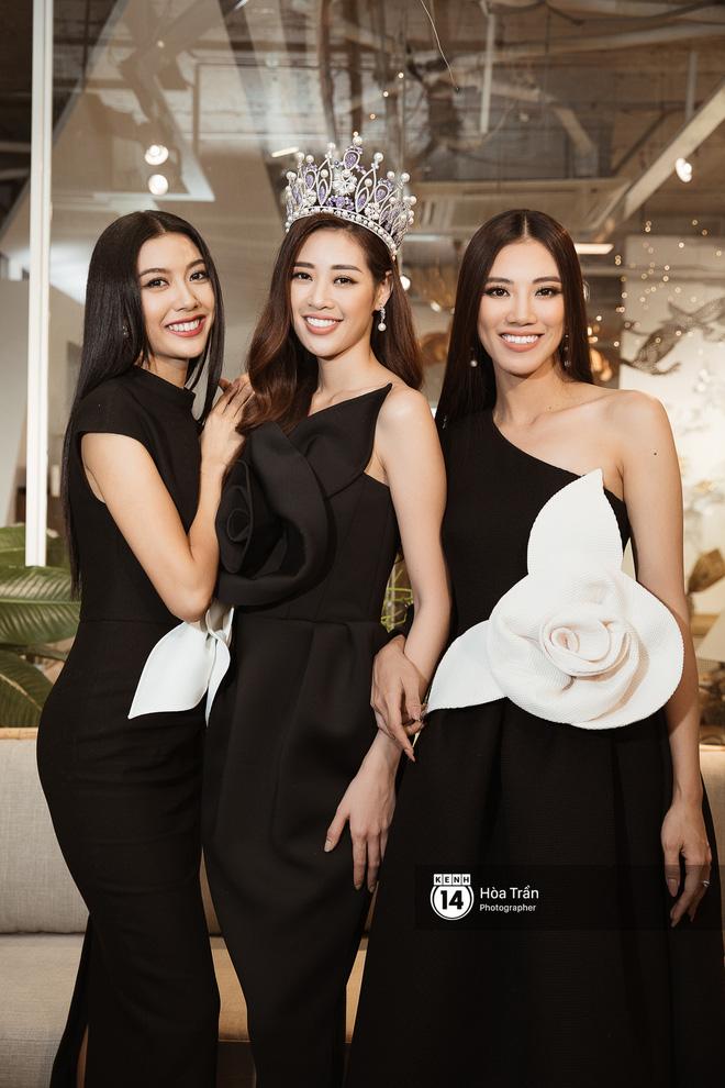 Bộ ảnh nét căng đầu tiên của Top 3 Hoa hậu Hoàn vũ: Khánh Vân đẹp xuất thần, Kim Duyên và Thúy Vân sắc sảo mười phân vẹn mười - Hình 1