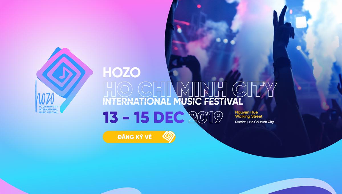 Hozo 2019 - Bữa tiệc âm nhạc đa sắc màu - Hình 1