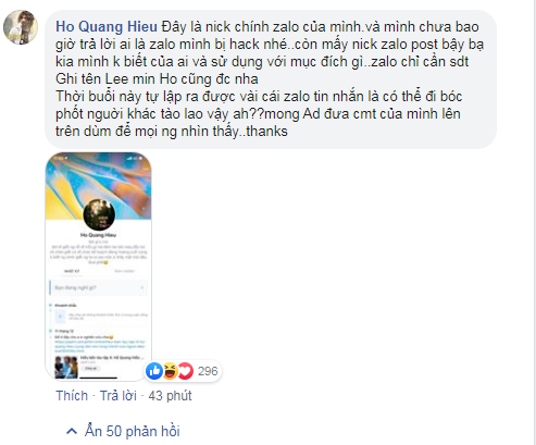 Mới: Hồ Quang Hiếu chính thức lên tiếng về scandal cướp đời con gái hot girl: Tào lao vậy à - Hình 1