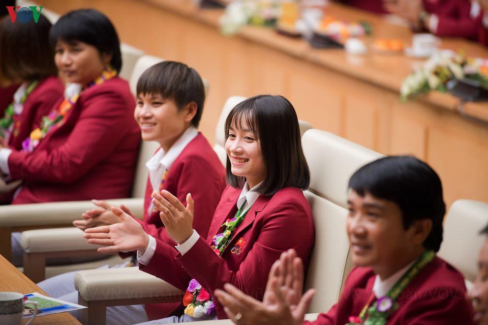 Ngắm nhan sắc trong veo của Hoa hậu tuyển bóng đá nữ Việt Nam - Hình 1