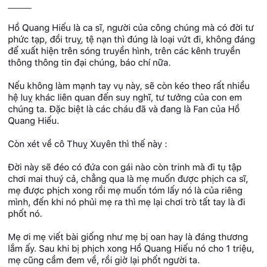Nguyễn Sin lên tiếng ch.ửi thẳng mặt Hồ Quang Hiếu, lôi Bảo Anh vào cuộc một cách 'v.ô d.uyên' - Hình 3