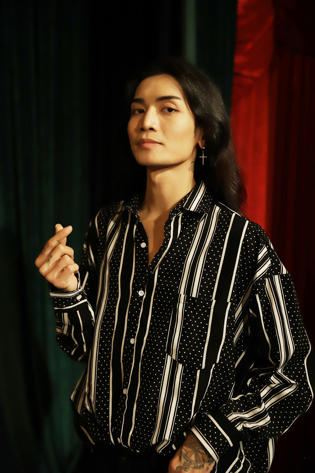BB Trần, Hải Triều thần thái sắc lẹm, chặt chém hội chị em trong web drama cổ trang của Adam Lâm - Hình 13