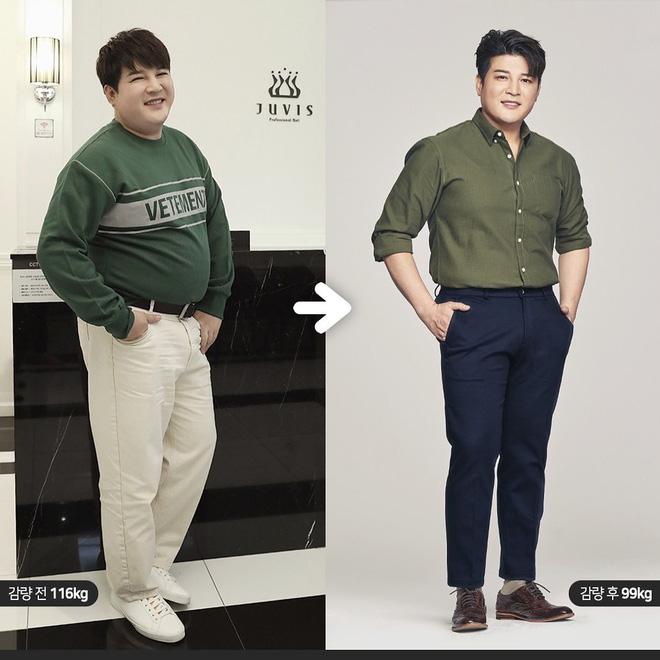 Thêm màn giảm cân gây bão Kbiz: Shindong (Suju) sụt tận 17kg, lột xác sau 2 tháng nhưng còn xa so với mục tiêu chính - Hình 1