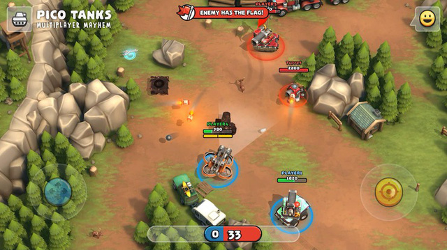 Game bắn tăng siêu cute Pico Tanks tung trailer cuối cùng tiết lộ những điều không ngờ - Hình 2