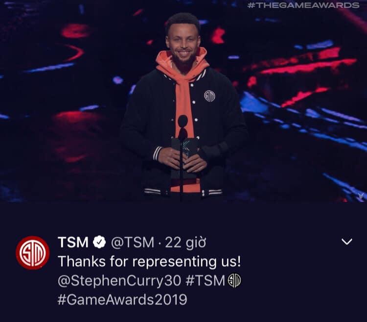 Messi của NBA bất ngờ xuất hiện tại The Game Awards trong màu áo TSM - Hình 1