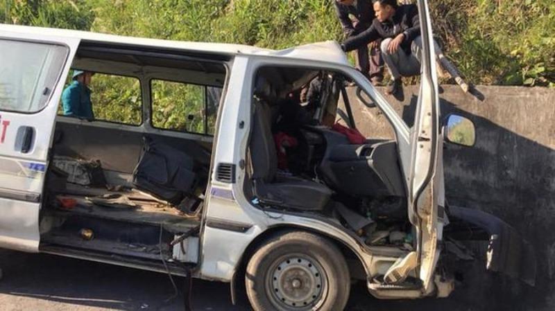 Xe đoàn từ thiện gặp nạn khiến 3 người chết đeo biển số giả - Hình 1