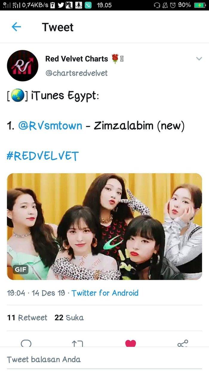 Chẳng nói chẳng rằng, Zimzalabim của Red Velvet bất ngờ lội ngược dòng trên iTunes Ai Cập - Hình 1