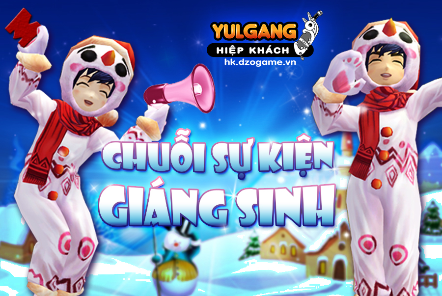 Chuỗi sự kiện hấp dẫn của Yulgang Hiệp Khách nhân dịp Giáng Sinh - Hình 1