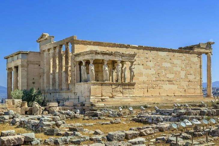 Khám phá vẻ đẹp của một số kỳ quan kiến trúc Hy Lạp cổ đại - Hình 1