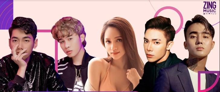 AMEE đứng đầu đề cử, cạnh tranh với K-ICM & Jack, Hương Giang ở ZMA - Hình 1