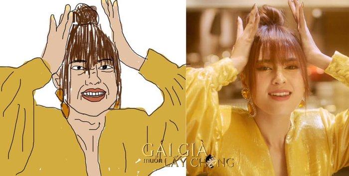 Cười mệt với loạt ảnh MV mới của Ninh Dương Lan Ngọc phiên bản... hoạt hình cực bá đạo - Hình 2