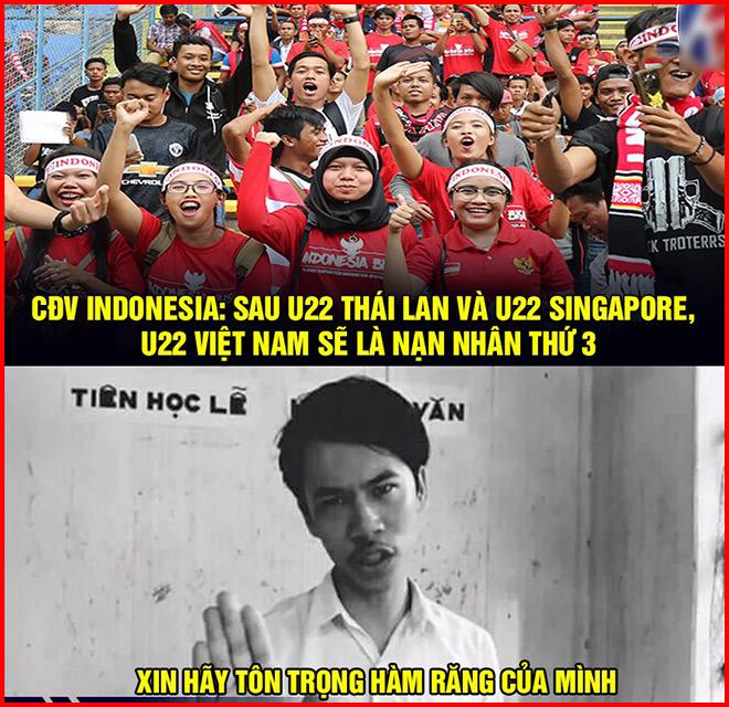 Dân mạng khí thế chế ảnh trước đại chiến U22 Việt Nam vs U22 Indonesia - Hình 2