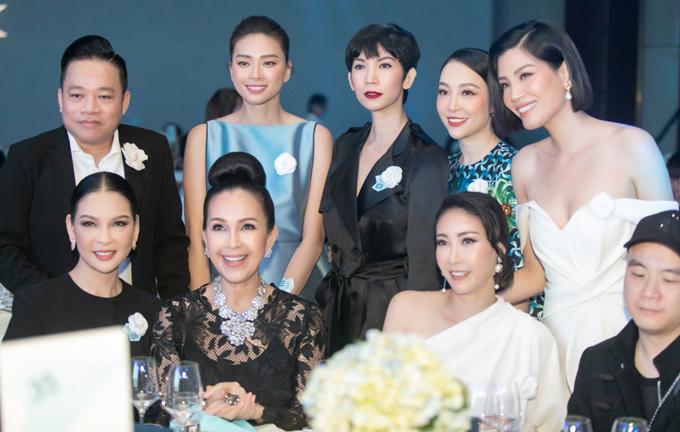 Dàn sao dự tiệc từ thiện của Ngô Thanh Vân - Hình 8