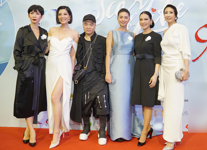 Dàn sao dự tiệc từ thiện của Ngô Thanh Vân - Hình 7