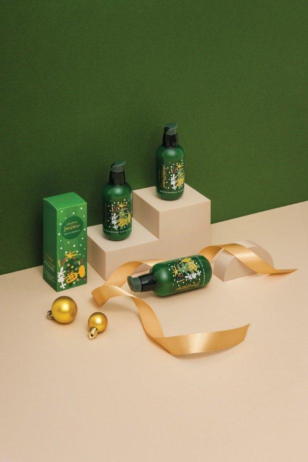 Giáng sinh sắm gì cho chất: Rước ngay bộ mỹ phẩm Green Holidays Limited Edition đẹp quên lối về từ innisfree - Hình 2