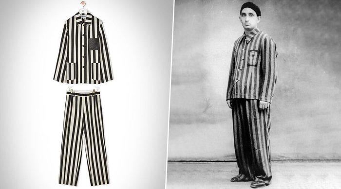 Nhà mốt cao cấp Loewe phải xin lỗi vì thiết kế giống đồng phục tù nhân - Hình 2
