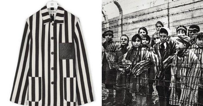 Nhà mốt cao cấp Loewe phải xin lỗi vì thiết kế giống đồng phục tù nhân - Hình 1