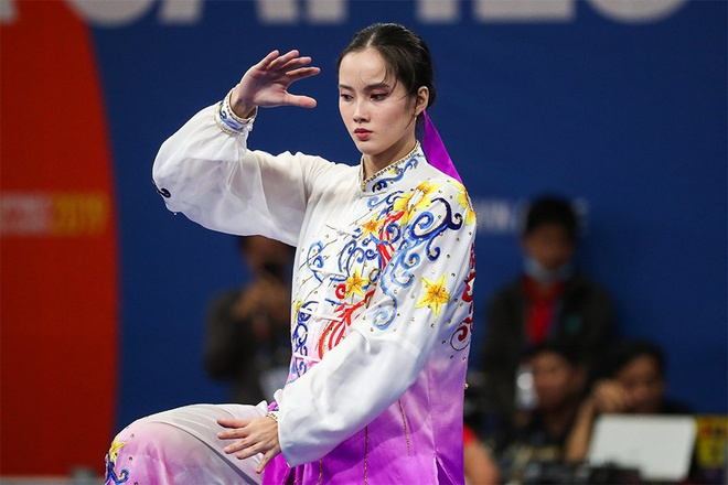 Nhan sắc nữ VĐV giành huy chương vàng wushu cho Phillippines - Hình 2