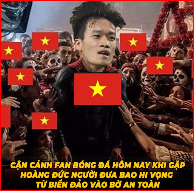 U22 Việt Nam ngược dòng ngoạn mục khiến fan hâm mộ hả hê - Hình 1