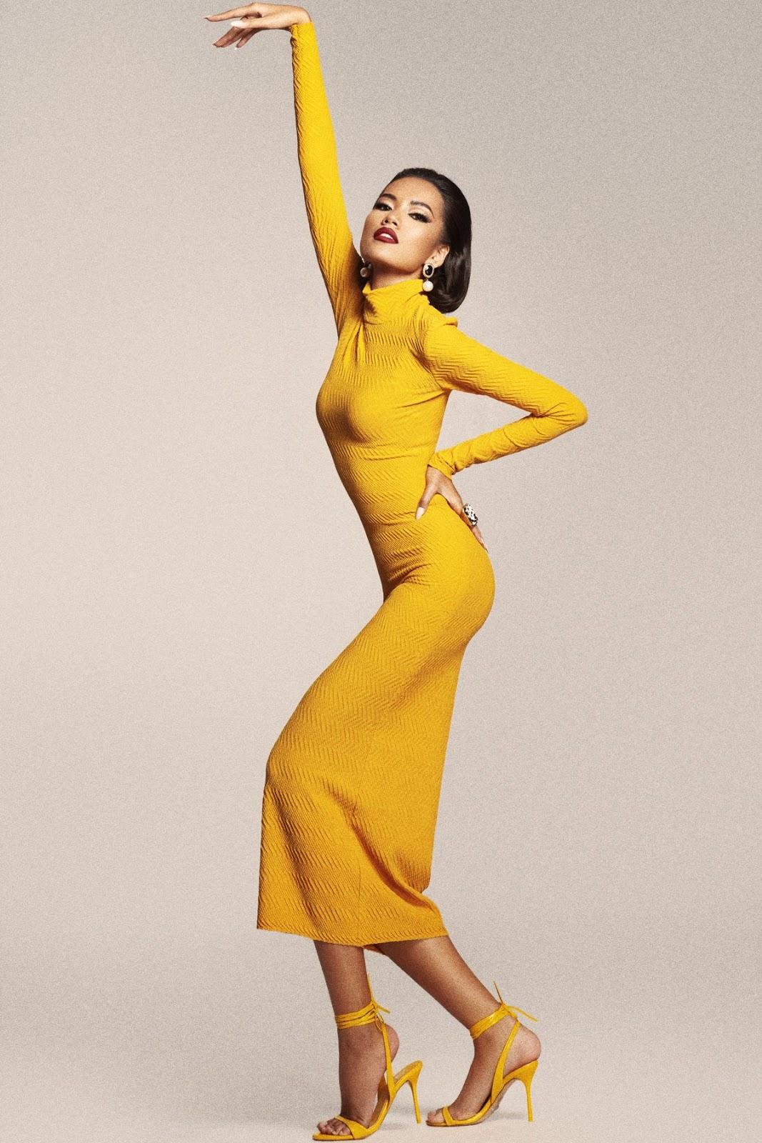 Ứng viên Hoa hậu Hoàn vũ Việt Nam 2019 - Hoàng Phương xuất thần trong hình ảnh mới - Hình 4