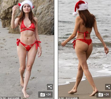 Blanca Blanco khiến quý ông chao đảo với bikini màu đỏ nhỏ xíu - Hình 8