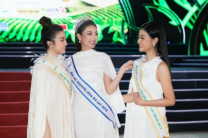 Dàn hoa hậu hội ngộ ở Bảo Lộc - Hình 1