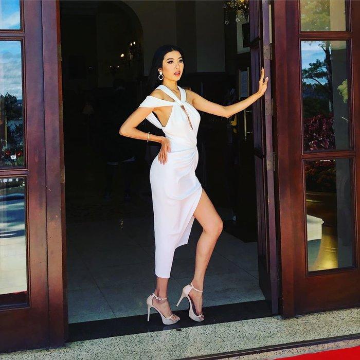 Cân trình catwalk của top 3 Hoa hậu Hoàn vũ Việt Nam: Khánh Vân đứng nhì thì ai sẽ đứng nhất? - Hình 1