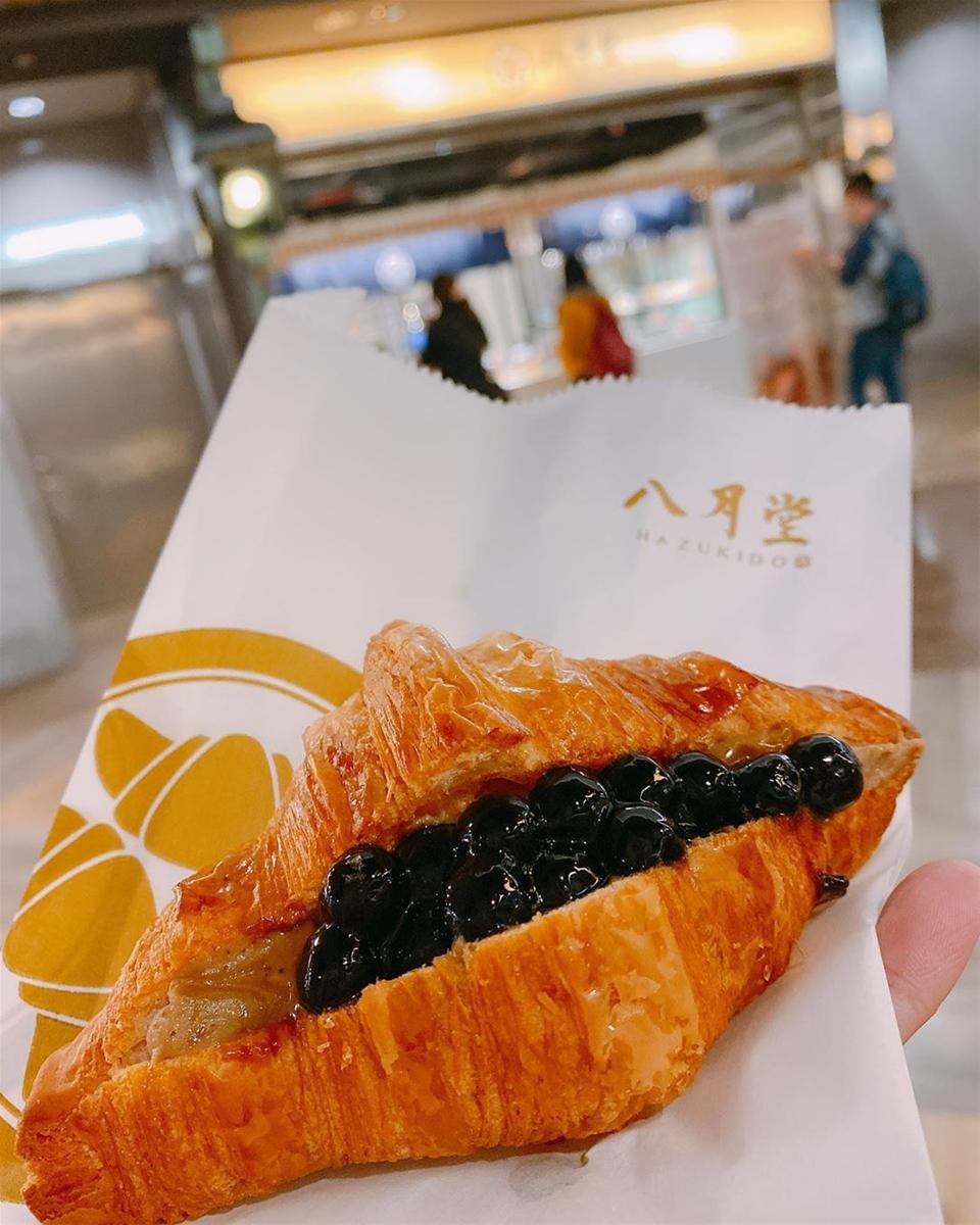 Bánh sừng bò trân châu đen đang sốt xình xịch ở Đài Loan - Hình 3