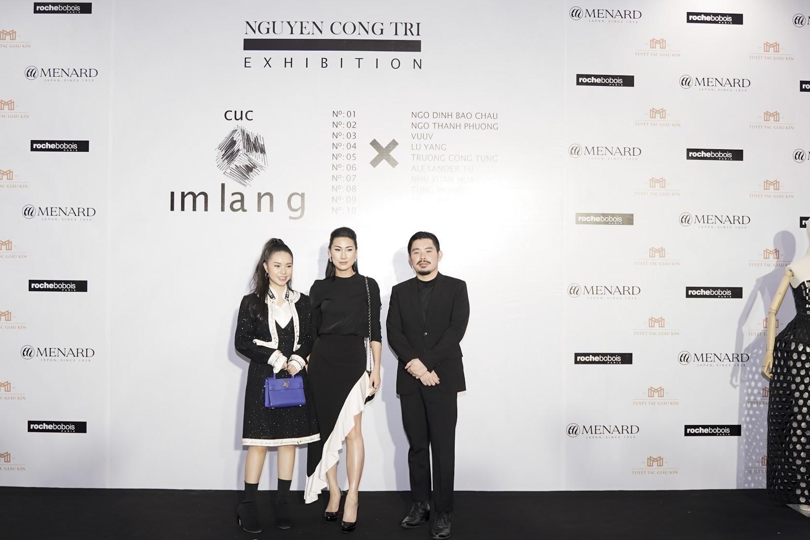 Dàn mỹ nhân Vbiz đọ dáng tại sự kiện Triển lãm Thời trang Nguyễn Công Trí - Hình 21