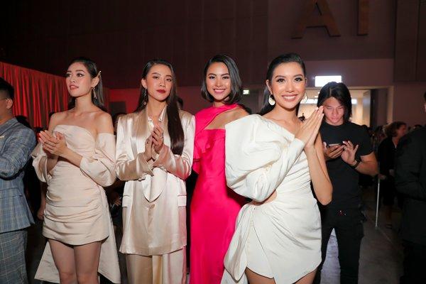 Thanh Hằng, Hà Hồ và dàn hoa hậu dắt tay nhau tham dự triển lãm của Nguyễn Công Trí - Hình 8