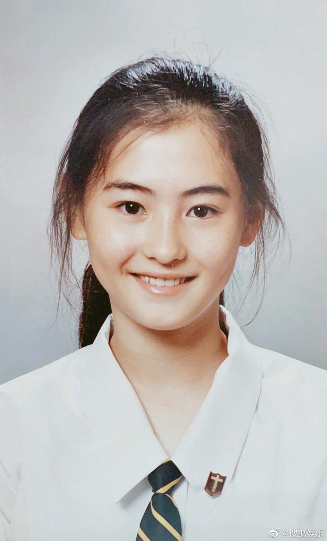 Ảnh thẻ thời học sinh của Trương Bá Chi gây choáng: Gương mặt sắc sảo, bảo sao là tường thành nhan sắc Hong Kong - Hình 1