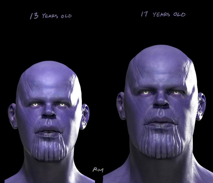 Đây là tạo hình Thanos thời thanh xuân trong Avengers: Endgame sẽ khiến bạn... mất ngủ! - Hình 2