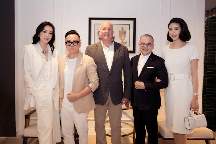 Hoa hậu Hà Kiều Anh xuất hiện quyến rũ với đồ trắng - Hình 8