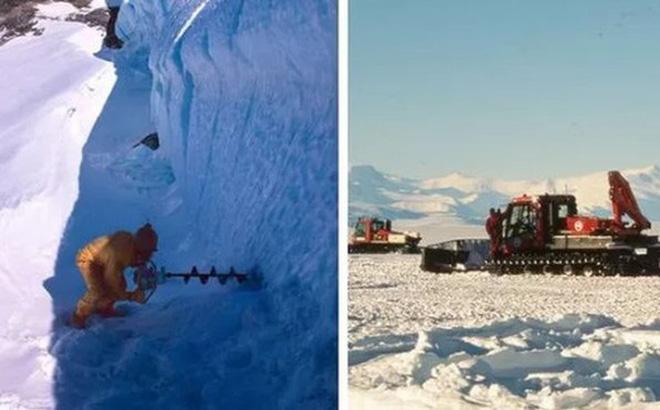 Khoan tảng băng 2 triệu năm tuổi, nhà khoa học sốc với thứ bên trong - Hình 1
