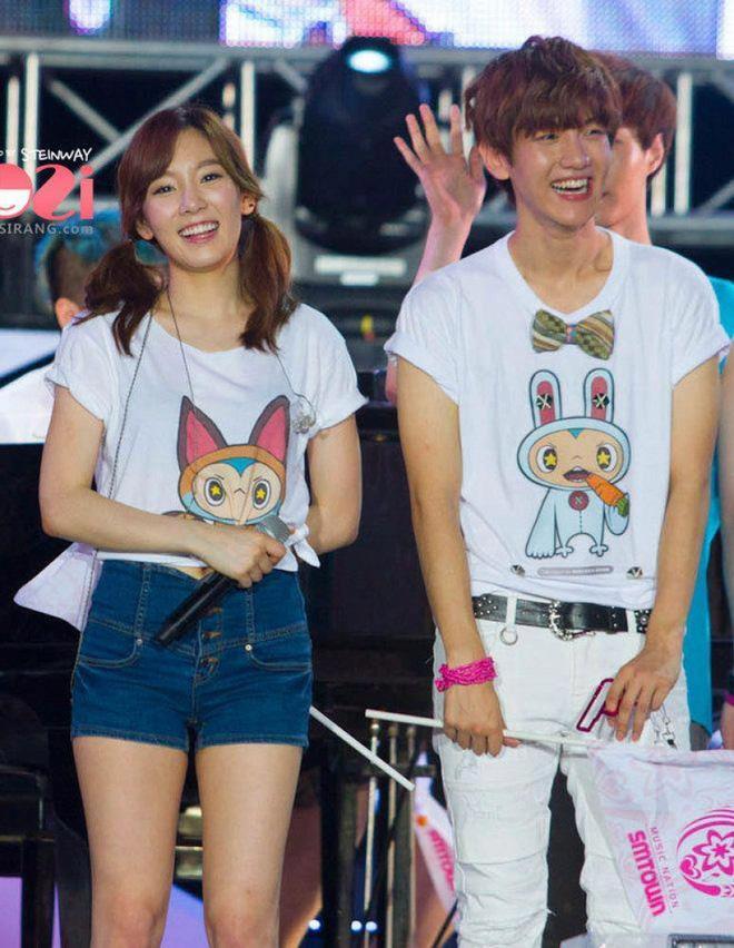 Những mối quan hệ showbiz khó xử hậu chia tay: Taeyeon - Baekhyun có dễ thở hơn Lý Tiểu Lộ - Giả Nãi Lượng? - Hình 1