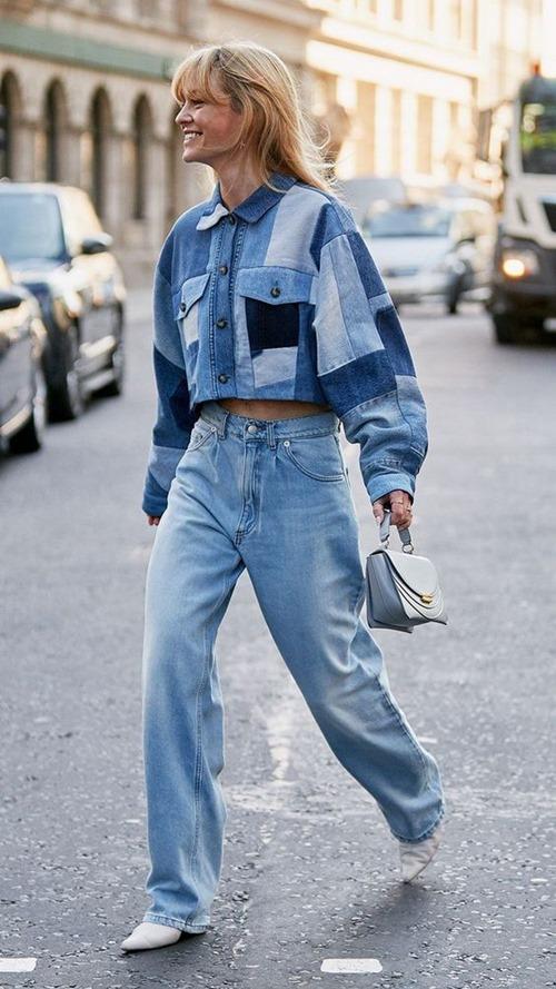 Quần jeans cũ mix với 6 kiểu áo này chỉ có đẹp trở lên - Hình 2