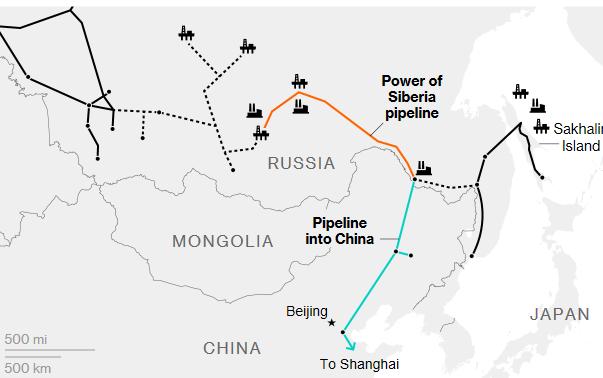 Sức mạnh Siberia: Thông điệp sắc lạnh Nga, Trung gửi tới thế giới - Hình 2