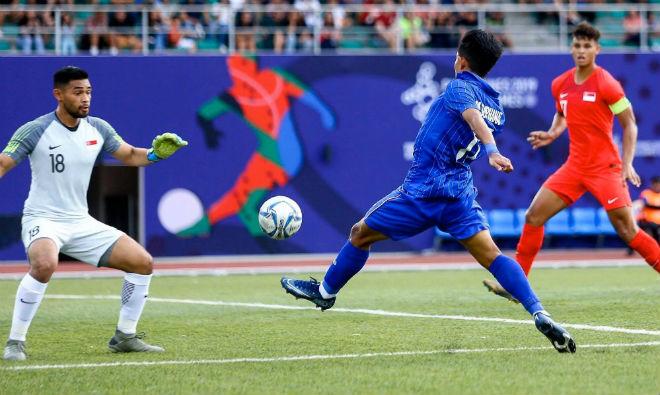 U22 Việt Nam muốn thắng 4 trận: Singapore yếu như Lào, thầy Park ém quân - Hình 1