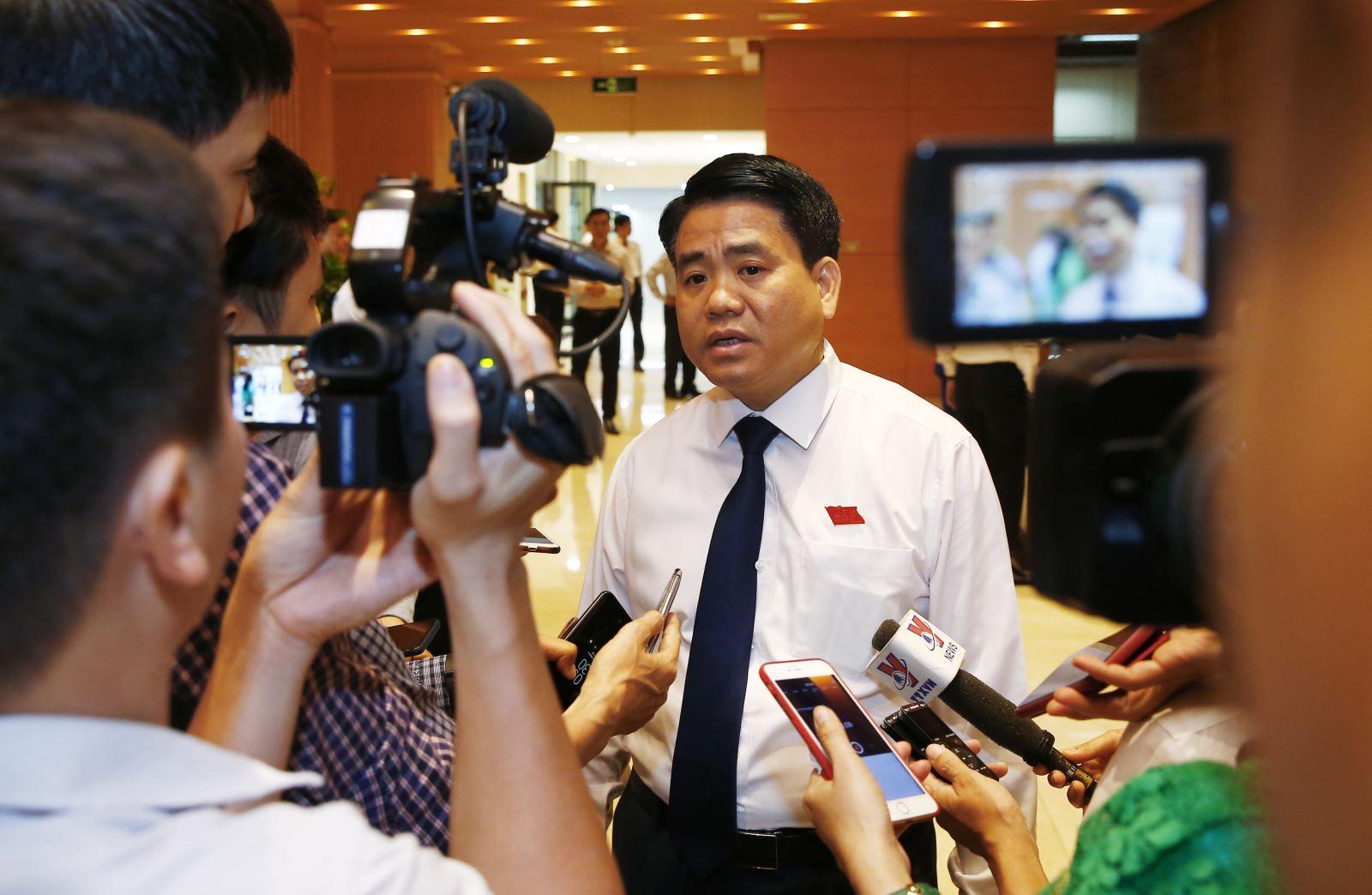 Vụ Nhật Cường, ông Nguyễn Đức Chung nói chờ cơ quan điều tra kết luận - Hình 1