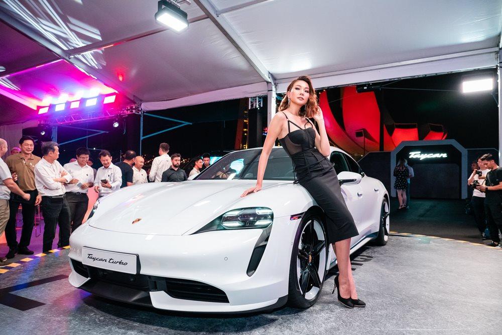Xe điện Porsche Taycan ra mắt thị trường châu Á Thái Bình Dương - Hình 2