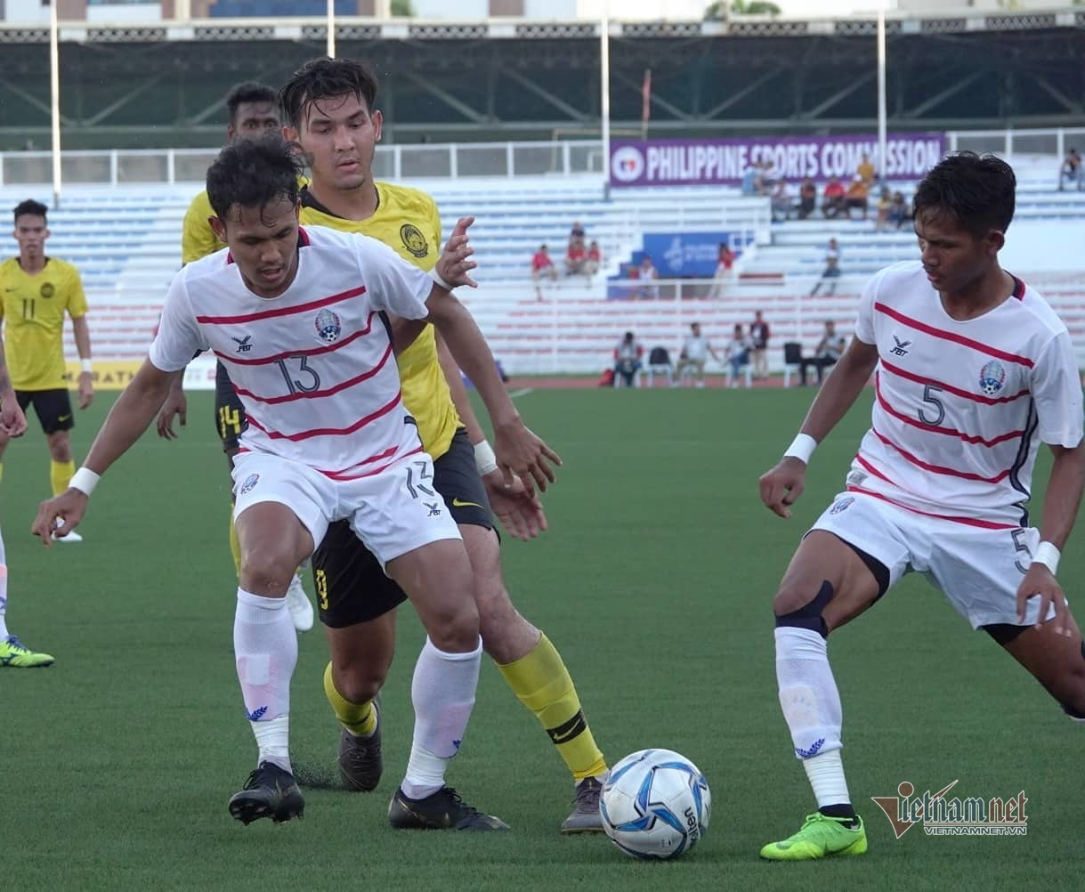 Báo Malaysia sau trận thua U22 Campuchia: Cơn ác mộng trong hiệp 2 - Hình 1