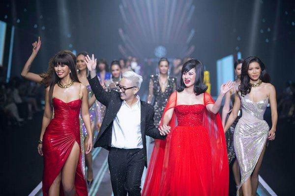 Bước lên thảm đỏ, Nam Anh-Nam Em hút spotlight với phong cách cực sexy, Phương Khánh không còn điệu đà - Hình 1