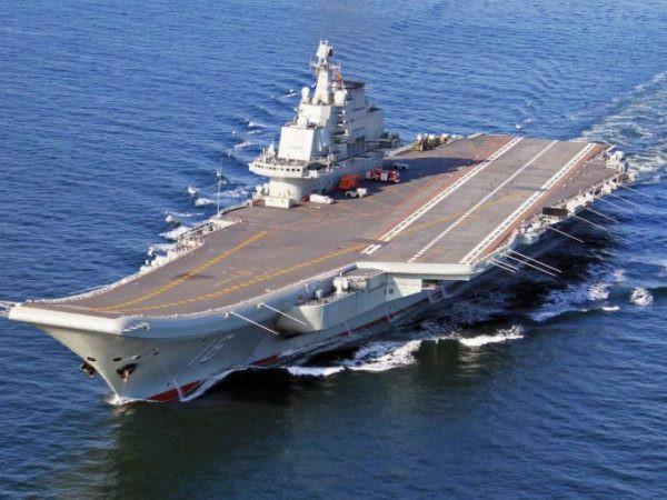 Tàu chiến Trung Quốc khoe hệ thống tên lửa mới - Hình 1