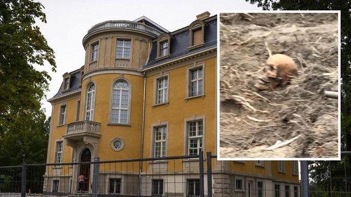 Thi hài người lính Liên Xô được tìm thấy trong biệt thự của MC nổi tiếng Đức - Hình 1