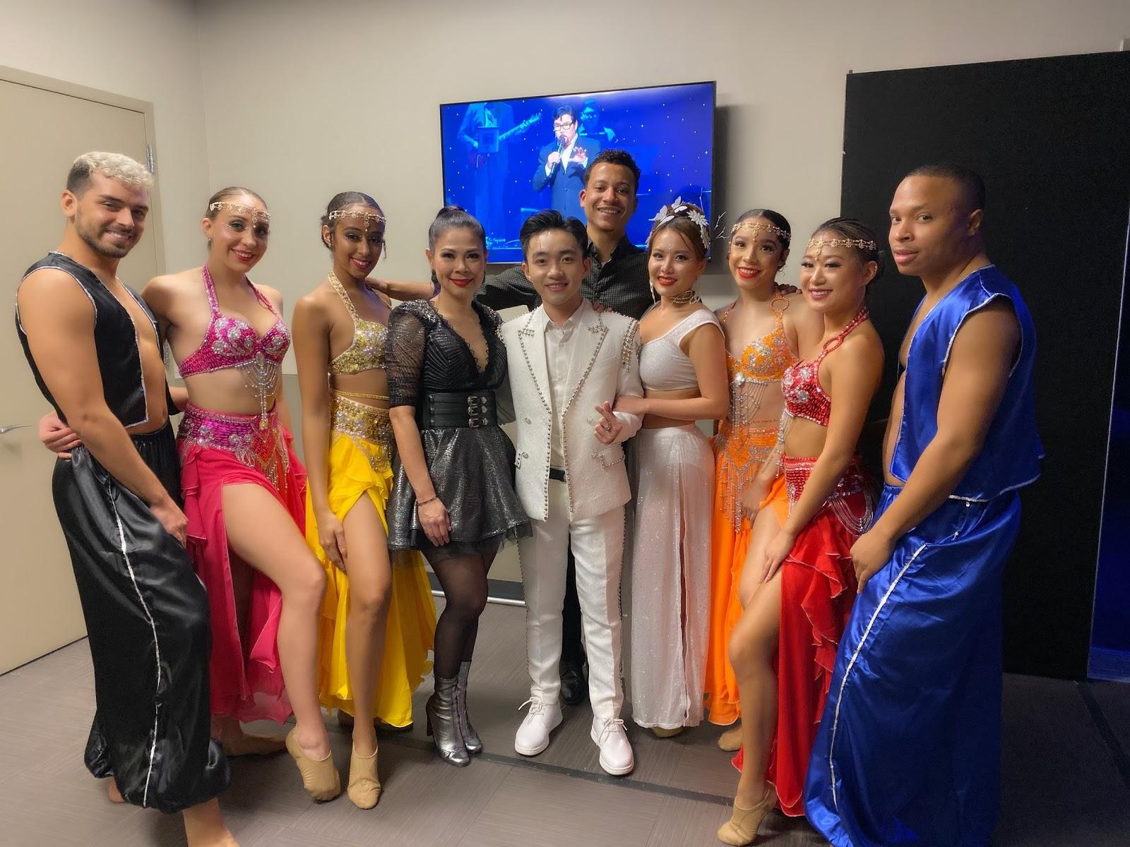 Trung Quang được Ý Lan, Minh Tuyết, Thanh Thảo khen ngợi khi biểu diễn tại Mỹ - Hình 5