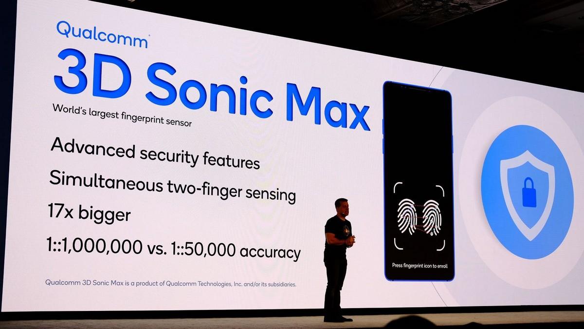 Chi tiết về cảm biến vân tay siêu âm thế hệ thứ hai Qualcomm 3D Sonic Max - Hình 1