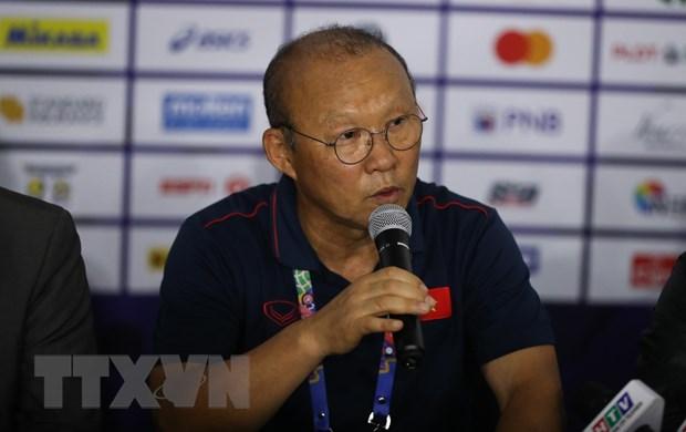 HLV Park Hang-seo khen ngợi tinh thần quật cường của U22 Việt Nam - Hình 1