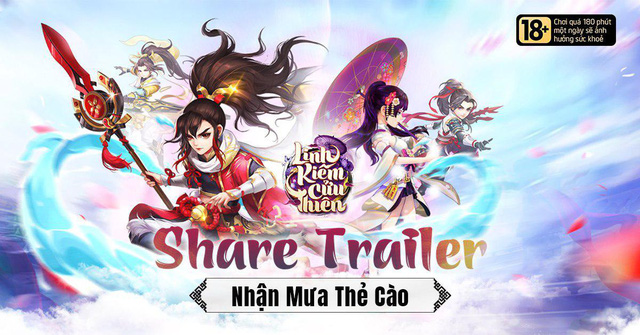 NPH VGP tung trailer cực đỉnh của Linh Kiếm Cửu Thiên cùng với cơn mưa quà tặng tới các game thủ - Hình 1